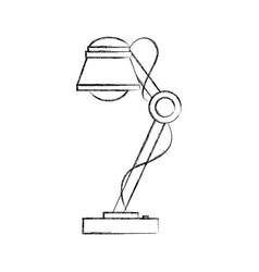 Desk lamp icon bulb light energy ilumination vector
