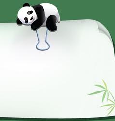 Panda 042 vector
