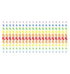 Rx symbol shape halftone spectral pattern vector