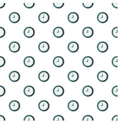 wall clock pattern seamless vector image