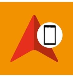 Cursor mobile phone navigation vector