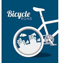 Bike design vector