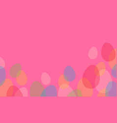 Collection of easter greeting card style vector