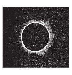 Eclipse vintage vector