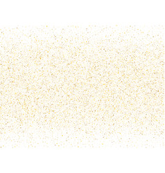 gold sparkles glitter dust metallic confetti vector image