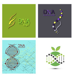 molecules concept of neurons and nervous system vector image