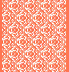 red white seamless pattern vector image