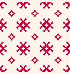 Seamless pattern traditional scandinavian motif vector