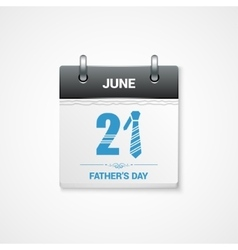 fathers day date design background vector image vector image