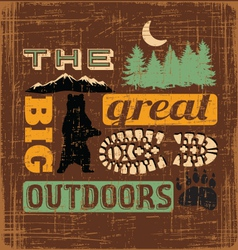 Great outdoors1 vector