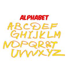 Children alphabet vector