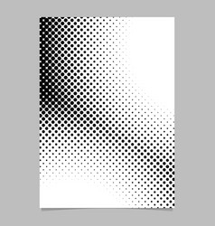 retro halftone dot pattern background brochure vector image
