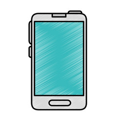 Smartphome mobile technology vector