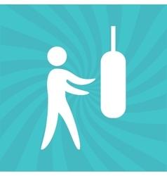 gym sport icon design vector image