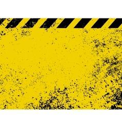 Industrial hazard stripes texture vector image vector image