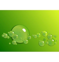 Background from the drops vector image