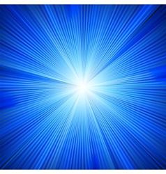 Blue color design with a burst EPS 8 vector image