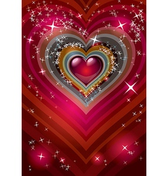 heart 04 vector image vector image