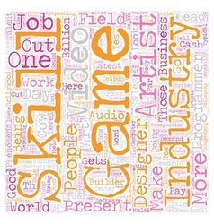 Job Opportunities text background wordcloud vector