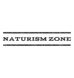 Naturism Zone Watermark Stamp vector