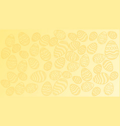 the texture of the easter eggs vector image