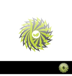 nature symbol vector image vector image
