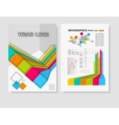 Poster Templates for Business vector image vector image