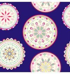 abstact seamless pattern vector image