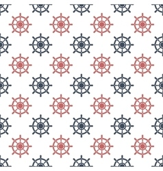 Wheel seamless pattern vector image vector image