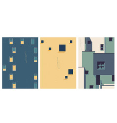 abstract architectural background geometric vector image