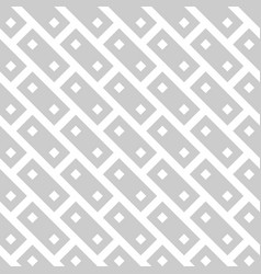 Abstract seamless pattern background grey brick vector