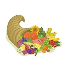 Abundance Horn vector image