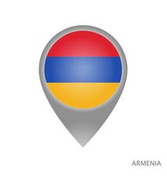 Armenia point vector