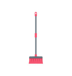 Brush mop icon flat style vector