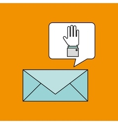 Email with icon design vector