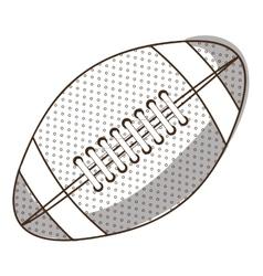 football ball icon image vector image