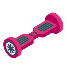 Hover board icon isometric style vector