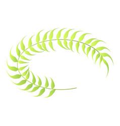 laurel frame icon isometric style vector image