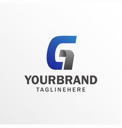 Letter g logo symbol icon vector