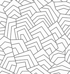 Monochrome ancient seamless pattern vector
