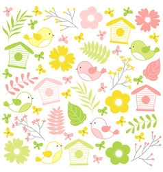Summer Time Set vector image vector image