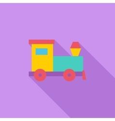 Train toy vector image vector image
