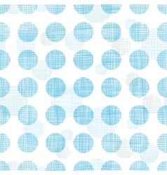 Abstract textile blue polka dots stripes seamless vector image