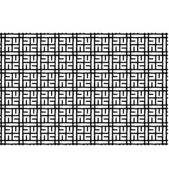 abstract pattern - black and white vector image