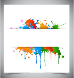 Abstract splash background vector image