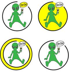 Area51 ufo alien vector