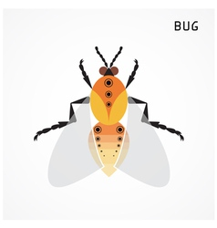 Bug sign vector