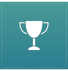 business and finance icon trophy vector image