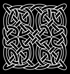 Celtic folk ornament vector