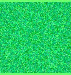 Colorful abstract dynamic circular burst mosaic vector